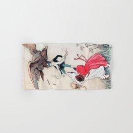 Compassionate Children Illustration Hand & Bath Towel
