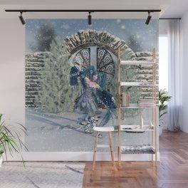 Winter Sprite Wall Mural