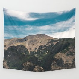 Mountain Adventure Colorado Rocky Adventure II - Nature Photography Wall Tapestry