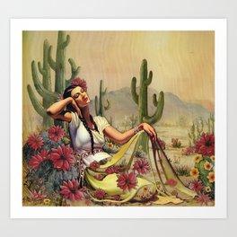 Desert Dreamer Art Print