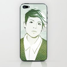 Tegan iPhone & iPod Skin