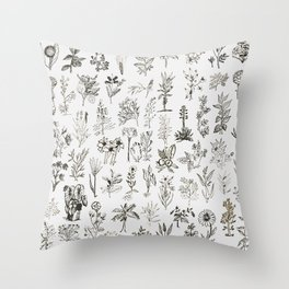 Drwaing Nature Throw Pillow