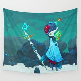 Observant Wall Tapestry