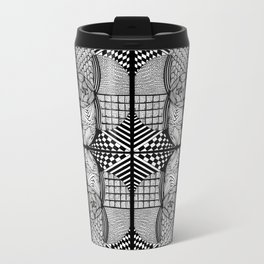 Zentangle #6 Travel Mug