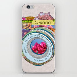 FLORAL CAN0N iPhone Skin