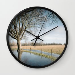a cold afternoon... Wall Clock