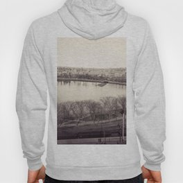 1858 Providence Cove, Grand Point, College Hill Photograph, Providence, Rhode Island Hoody
