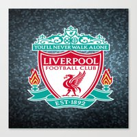 liverpool Canvas Prints featuring LIVERPOOL by Acus