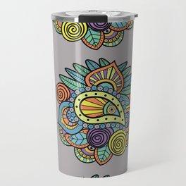 Indian style art Travel Mug