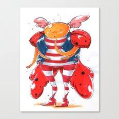 Little LadyBug Canvas Print