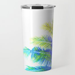 Fantasic Rainbow Palm Tree Travel Mug