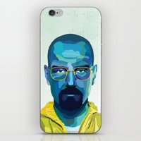 heisenberg iPhone & iPod Skins featuring Heisenberg by Ned & Ems