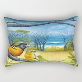 Surf Report Rectangular Pillow