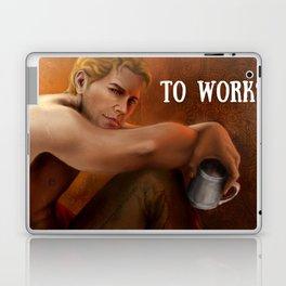 Dragon Age - Cullen - To work? Laptop & iPad Skin