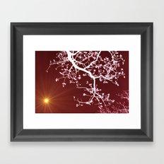 Zen energy Framed Art Print