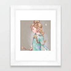Rosalina Framed Art Print