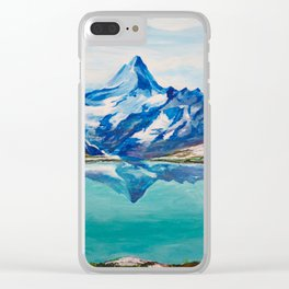 Swiss Mountains Clear iPhone Case