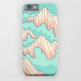 Peaks of the forest iPhone Case