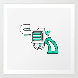 Karma Gun Art Print