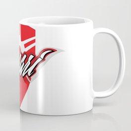 Red star shield Coffee Mug