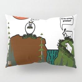 Is the grass greener? Pillow Sham