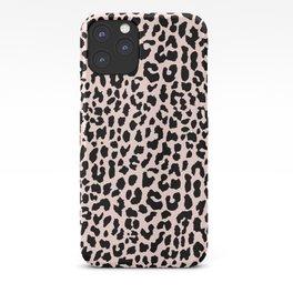 Rose Gold Leopard iPhone Case