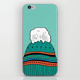 Winter Beanie iPhone Skin