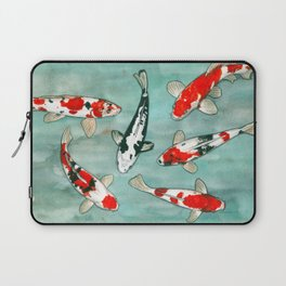 Le ballet des carpes koi Laptop Sleeve