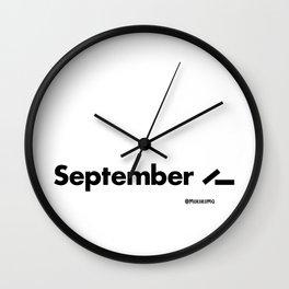 September 11 (2001) Wall Clock
