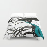 knight Duvet Covers featuring Knight  by JoaQuim