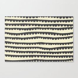 Scalloped Garland Canvas Print