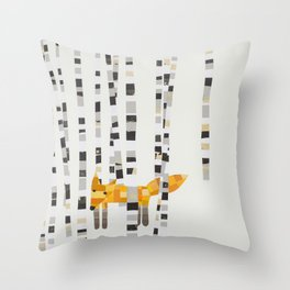 Fox Hill Lodge Throw Pillow