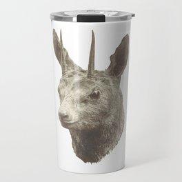 Animalistic city living Travel Mug