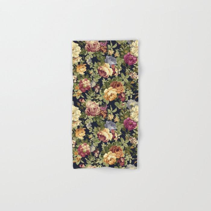 Floral Garden Hand & Bath Towel