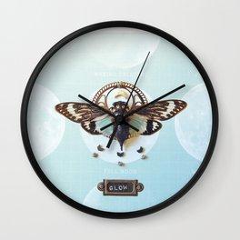 moon cicada Wall Clock