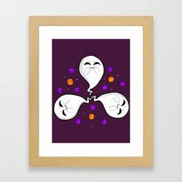 Cute Little Ghosties Framed Art Print