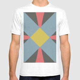 Blue gray T-shirt