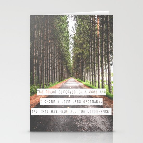 A Life Less Ordinary Stationery Cards