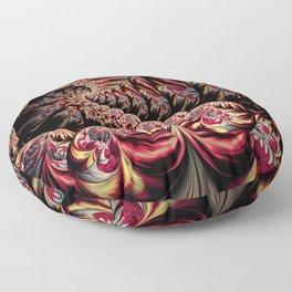 Flower Dragon Floor Pillow