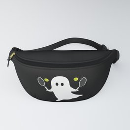 Ghost Tennis Funny Halloween Costume Fanny Pack