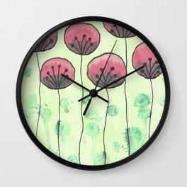 ART OF FLOERS Wall Clock
