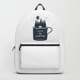 Let's Go Camping Backpack