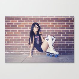 Schools out for summer Canvas Print