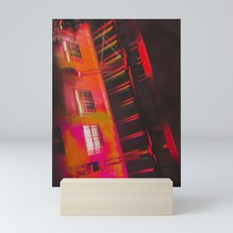 Up, Up, & Away Mini Art Print