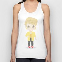 golden girls Tank Tops featuring Girls in their Golden Years - Blanche by Ricky Kwong