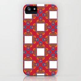 Czerwony iPhone Case