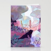 bridge Stationery Cards featuring Bridge by sarlisart