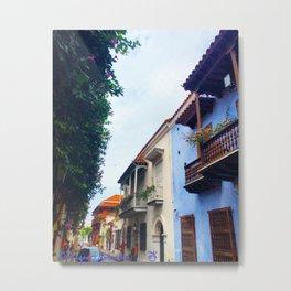 Cartagena Has Stolen My Heart, Mi Corazon Metal Print