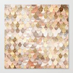 MERMAID GOLD Canvas Print