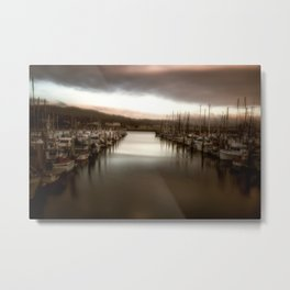 Unbalanced Half Moon Bay California Metal Print